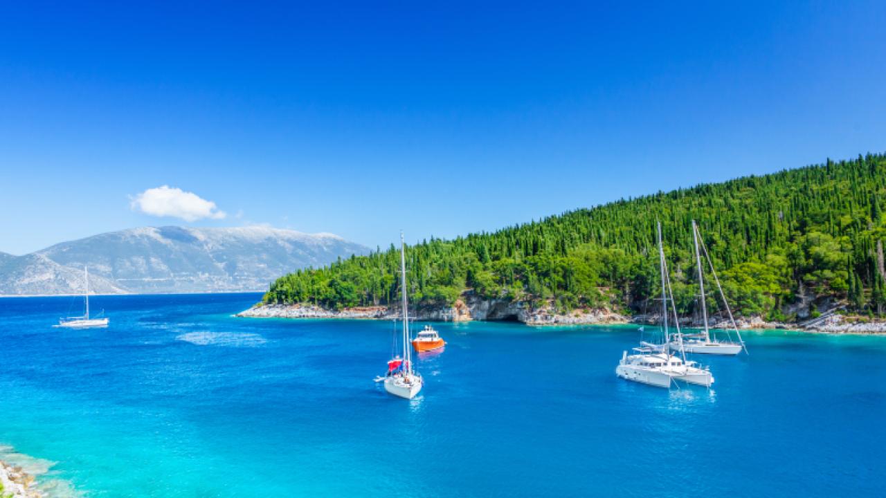 Bådferie i Middelhavet